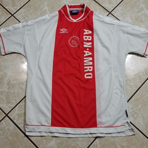 ajax umbro shirt